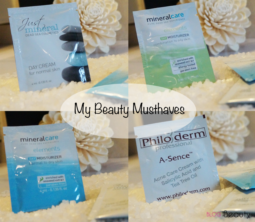 My Beauty Musthaves Collage